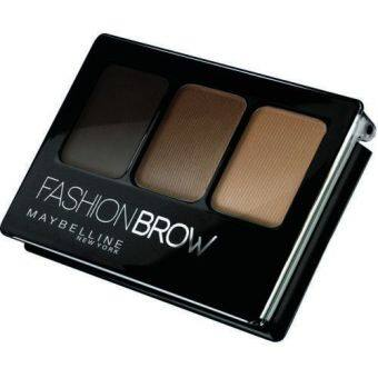 Harga Maybelline Fashion Brow 3D Contouring Palette for Eyebrow [Brown]