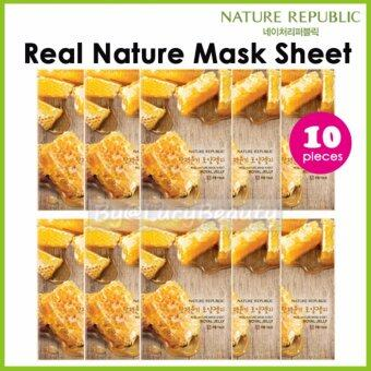 Harga Nature Republic Real Nature Mask Sheet ROYAL JELLY x 10pieces