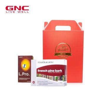 Harga GNC Antioxdant Boost Gift Set - MASQUELIER's® French Pine Bark Extract 50 tabs + L Pro 20 tabs