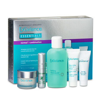 Harga Exuviance Essentials 5-Piece Skincare Set (For Normal and Combination Skin) 1set, 5pcs