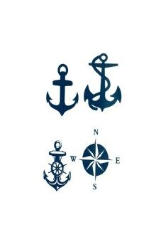 Harga Moona Anchor Tattoo stickers