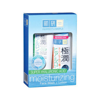 Harga HADA LABO Moist Lotion & Wash 170ml+100g