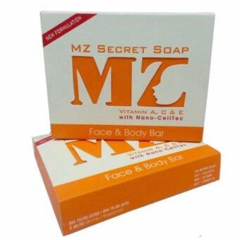 Harga MZ Secret Soap New Formulation Vitamin A, C & E