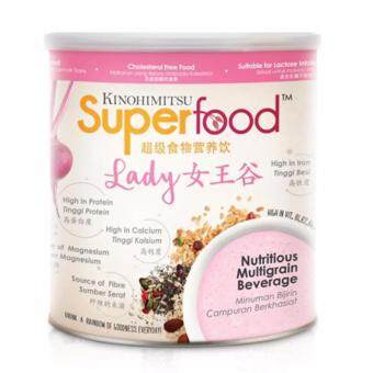 Harga KINOHIMITSU SUPERFOOD LADY 500GM