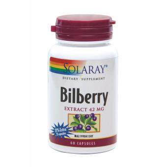 Harga Solaray Bilberry Extract 75 Capsules (MAL19984150T) - Traditionally used for general health & Eye health