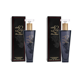 Harga TWIN DEAL: 2 X PARIS HILTON WITH LOVE EDP LADY 100ML