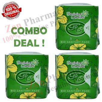 Harga Avail Bio Sanitary Pantyliner 3-Units