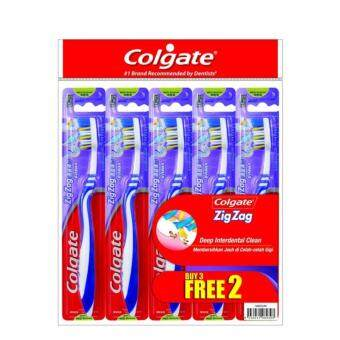 Harga COLGATE Zig Zag Medium Buy 3 Free 2 3+2S