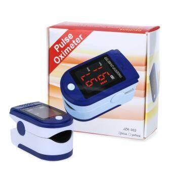 Harga Health Beauty Health Accessories Instant Read Digital Fingertip Pulse Oximeter Health Monitoring Display(Blue)