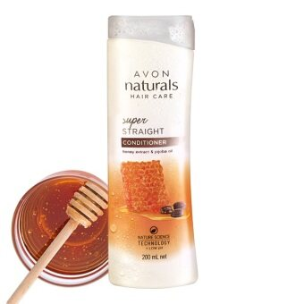 Harga Avon Naturals Super Straight Honey Extract & Jojoba Oil Conditioner