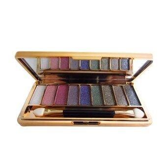 Harga Fashion 9 colors eye shadow palette (1#)