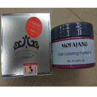 Harga Temporary Colour Hair Wax, Japan Hair Color Wax (Red)