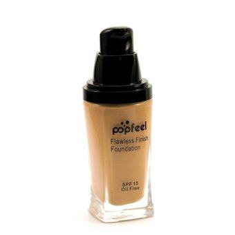 Harga POPFEEL MakeUp Perfection Foundation Full Coverage Flawless Matte Finish FF06