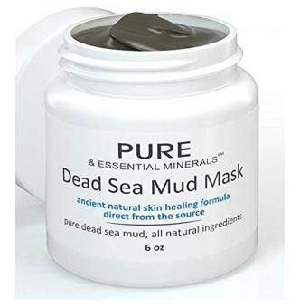 Harga BEST Dead Sea Mud Facial Mask + FREE BONUS EBOOK - Cleansing Acne & Pore Reducing Anti Aging Mask for Clear, Radiant Skin - 6 oz