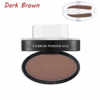 Harga Korea Style Shape Natural Eyebrow Stamp Powder Seal