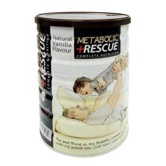 Harga Metabolic Rescue Complete Nutrition Vanilla Flavour 700g
