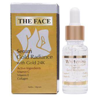 Harga ( X 2 ) The Face - Serum Gold Radiance With 24k Gold