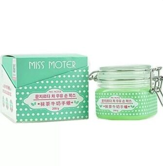 Harga MISS MOTER Matcha and Milk Hand Wax 200g (Taiwan Formulated)