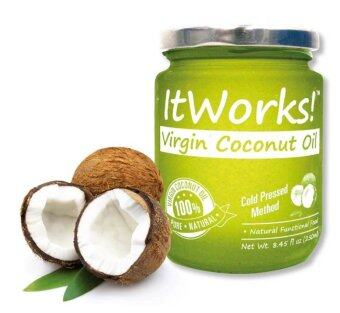 Harga ItWorks! Extra Virgin Coconut Oil 250ml Jar