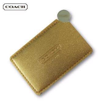 Harga Coach Stainless Steel Mirror (Gold)