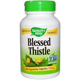 Harga Nature's Way, Blessed Thistle Herb, 100 Capsules
