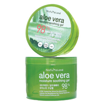 Harga NatureLand Aloe Vera Soothing Gel 500ml x 2