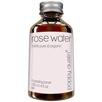 Harga Pure Rose Water Facial Toner by Poppy Austin - Organic, Hand Made & Responsibly Sourced Skin Toner - Finest, Triple Purified Rosewater - Moroccos Best Skin Care Product 2016 - HUGE 4 oz Bottle