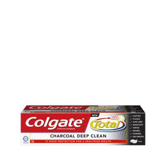 Harga COLGATE Charcoal Deep Clean Toothpaste 150g