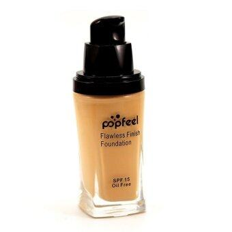 Harga POPFEEL MakeUp Perfection Foundation Full Coverage Flawless Matte Finish FF04