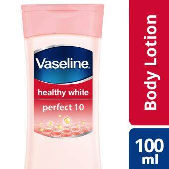 Harga Vaseline Healthy White Body Lotion Perfect 10 100 ml
