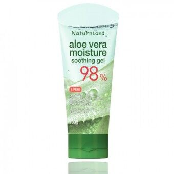 Harga NatureLand Aloe Vera Soothing Gel Tube 150ml