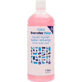 Harga TESCO EVERYDAY VALUE FAMILY BODY WASH (1L)