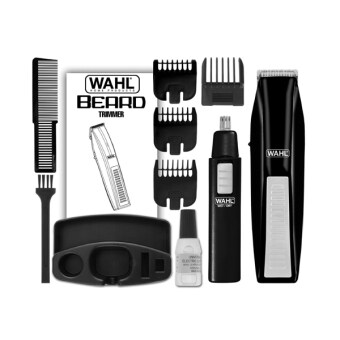 Harga Wahl Beard Trimmer with Bonus Ear Nose and Brow Trimmer