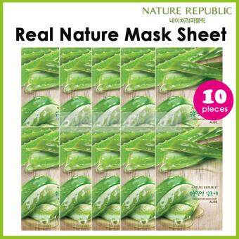 Harga Nature Republic Real Nature Mask Sheet ALOE 10pieces
