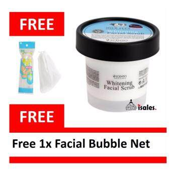 Harga ( ISALES )BEAUTY BUFFET MILK PLUS SCENTIO WHITENING Q10 FACIAL SCRUB 100ml