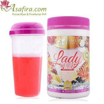 Harga Jamu Jelita Lady White 400g - 4 Units