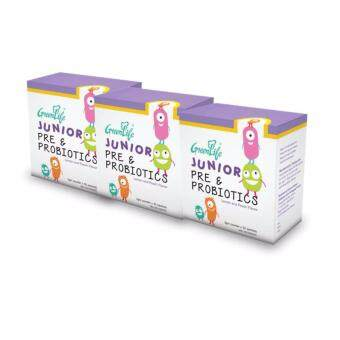 Harga [Buy 2 Free 1 + FREE GIFT] - Greenlife Junior Pre & Probiotics 30'S x 2 + FREE 1 Junior Pre & Probiotic 30'S + 1 Lunch Box (FREE)