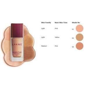 Harga Lakme Invisible Finish Foundation 02