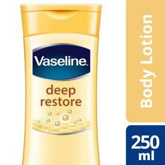Harga Vaseline Intensive Care Lotion Deep Restore 250 ml