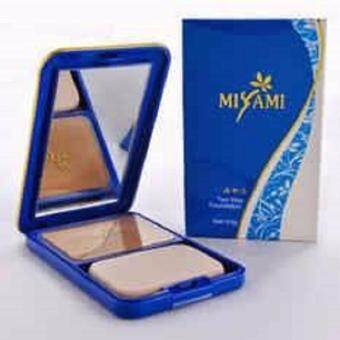 Harga Miyami Two Way Foundation SPF 15 LIGHT(01)