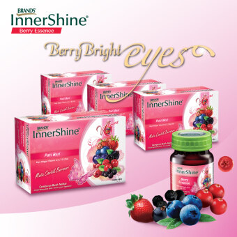 Harga BRAND'S® InnerShine Berry Essence (4x6's) - 24 bottles x 42ml