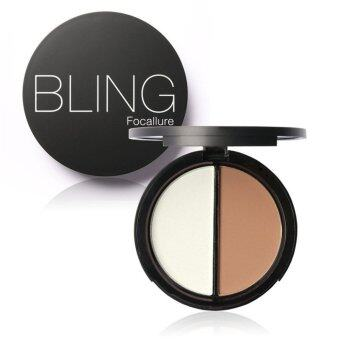 Harga Blush Bronzer Highlighter Concealer Bronzer Contour Effects Palette Comestic Make Up with Mirror