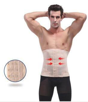 Harga Man Body Shaper Belt Waist Trimmer Support Belt Modern Corset Girdle Belts Shaper Men Girdle Slim Belt Supports-3XL