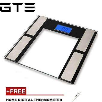 Harga GTE New Generation Body Fat Scale (Free Home Digital Thermometer)