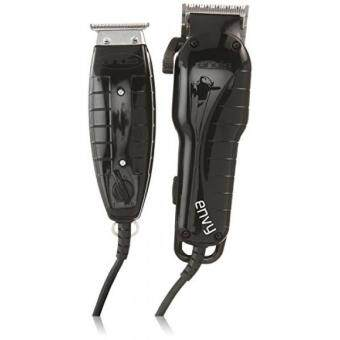 Harga GPL/ Andis Stylist Combo Envy Clipper + T-Outliner Trimmer Black Combo Haircut Kit 66280/ship from USA
