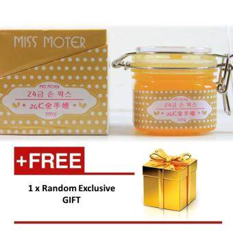 Harga Miss Moter Matcha Milk Hand Wax Gold 24K with extra gift