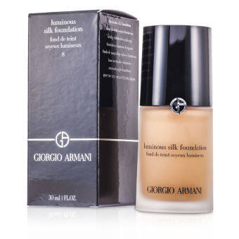 Harga Giorgio Armani Luminous Silk Foundation No. 8 Caramel 30ml/1oz