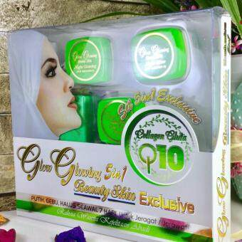 Harga (Original) Dara Anggun GLOW GLOWING 5 in 1 EXCLUSIVE Set Skincare NEW PACKAGING