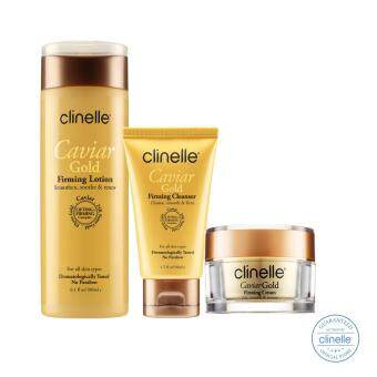 Harga Skin Care: Clinelle [Official] Caviar Gold Skin Kit