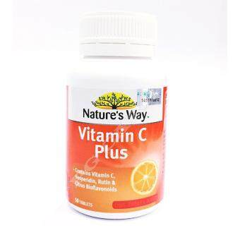 Harga NATURE'S WAY VITAMIN C PLUS 1000MG 50S